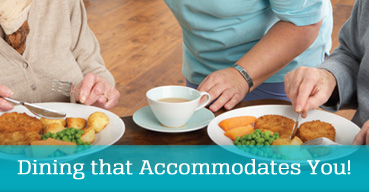 Quality nursing home dining options